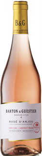 Barton & Guestier Rose d'Anjou 2015 750ml - Case of 12